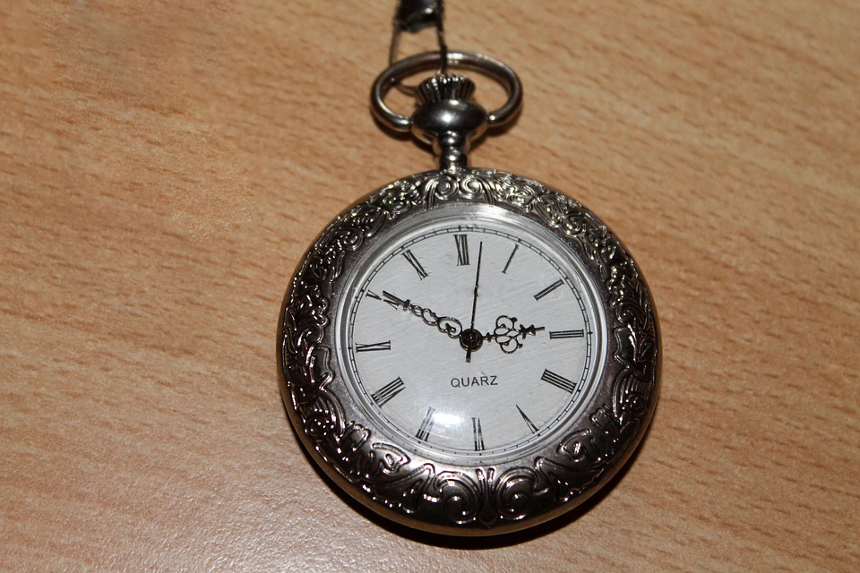 Pocket Watch, Silver, Timepiece, Time, Antique, Wind Up