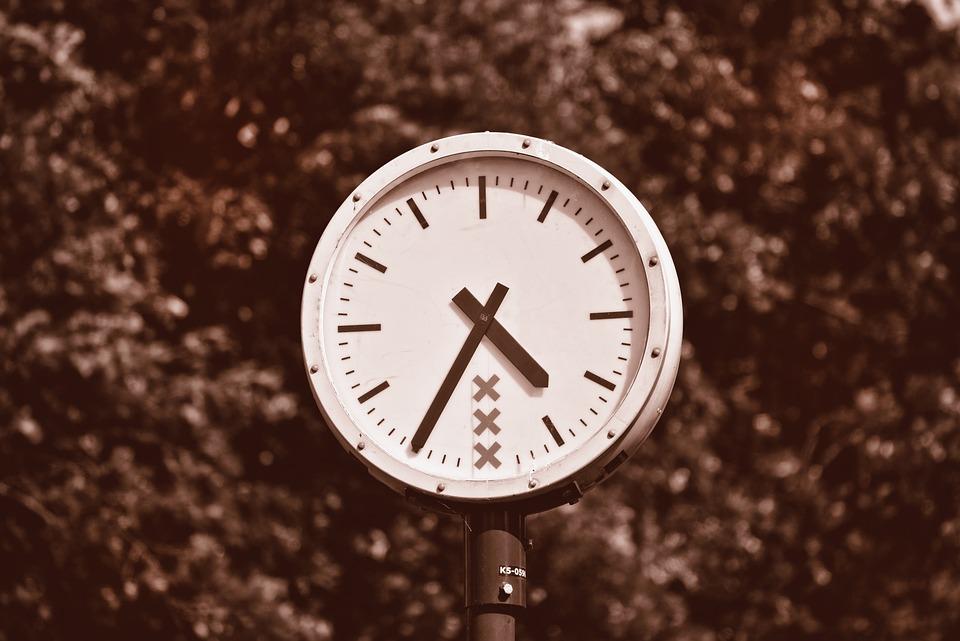 Clock, Time, Hour, Round Clock, Public Clock