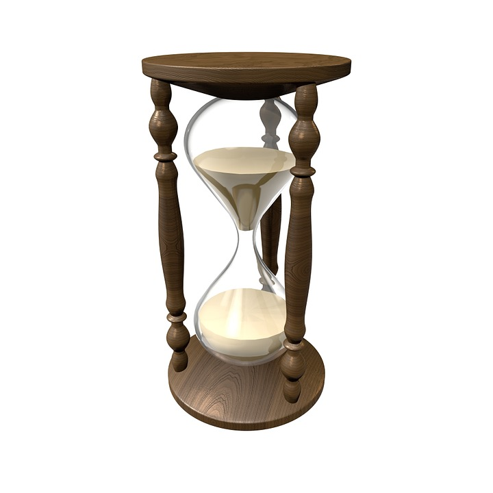 Hourglass, Time, Verinnen, Clock, Sand, Egg Timer
