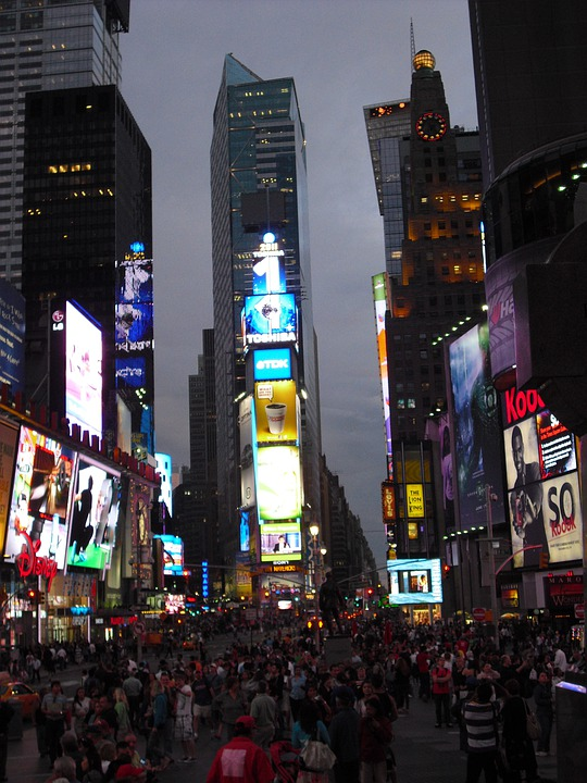 Times Square, New York City, Big Apple, Nyc, Broadway