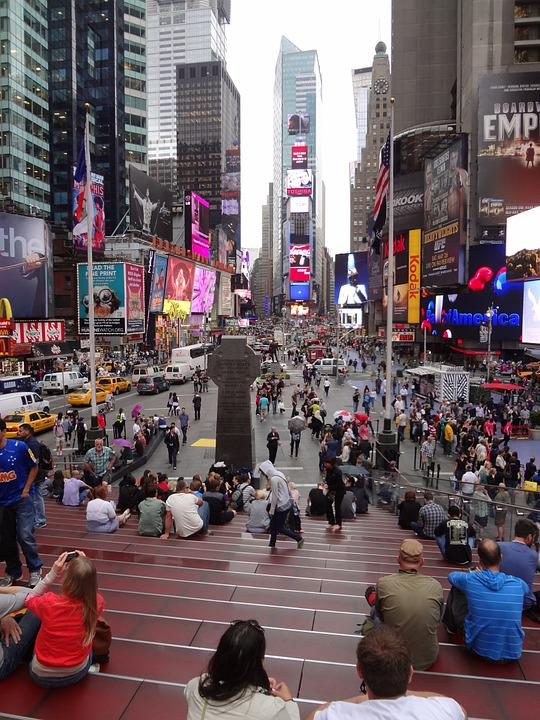 Times Square, New York, 5th Avenue, Broadway