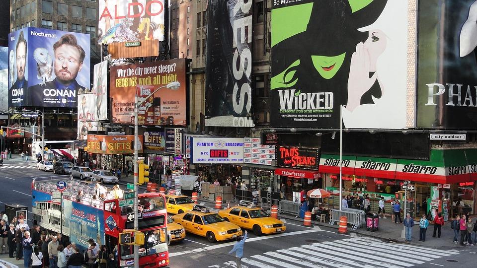 New York City, Times Square, Manhattan