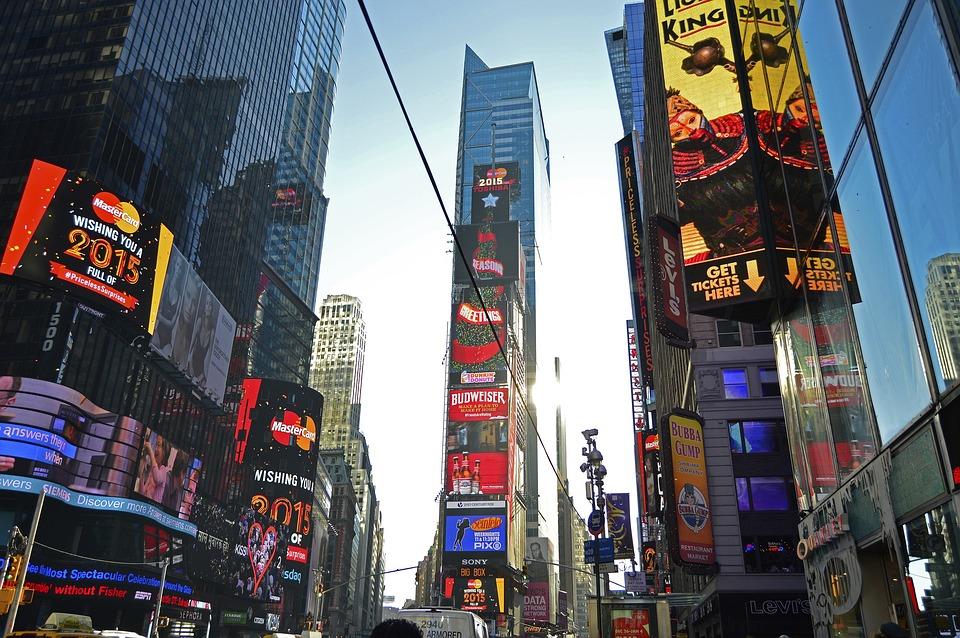 Times Square, Broadway, Manhattan, New York, City, Nyc