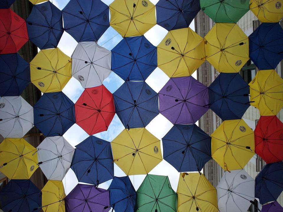 Umbrellas, Timisoara, Umbrella