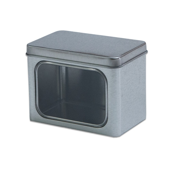 Tin, Can, Square Tin