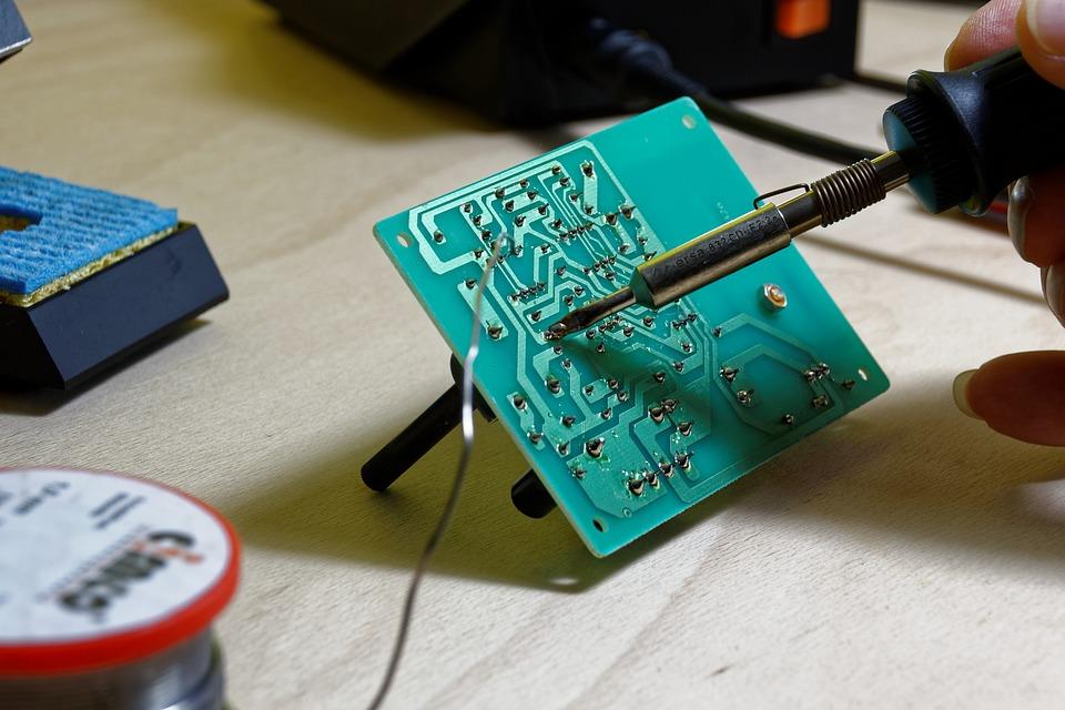 Solder, Soldering Station, Tin, Board, Electronics