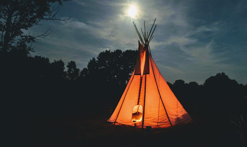 Teepee, Tee-pee, Tipis, Tent, Indian, The Indians