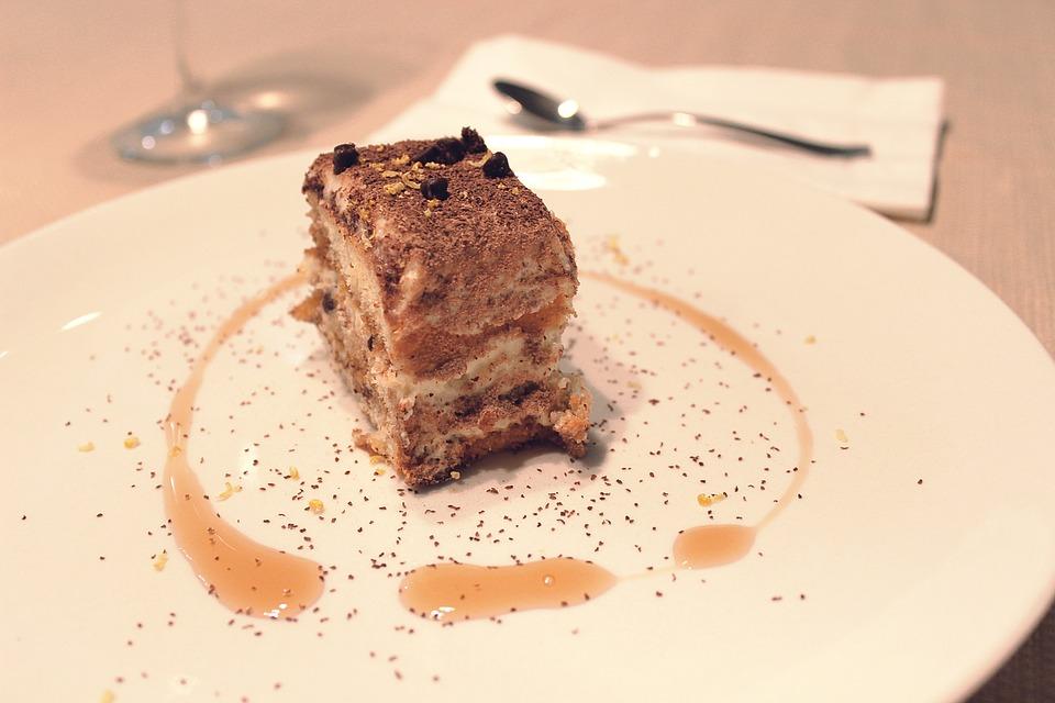 Tiramisu, Dessert, Sweet, Chocolate, Cake, Biscuit