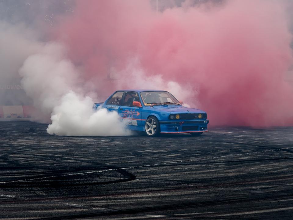 Bmw, Fast, Speed, Drift, Car, Tire, Burn, Smoke