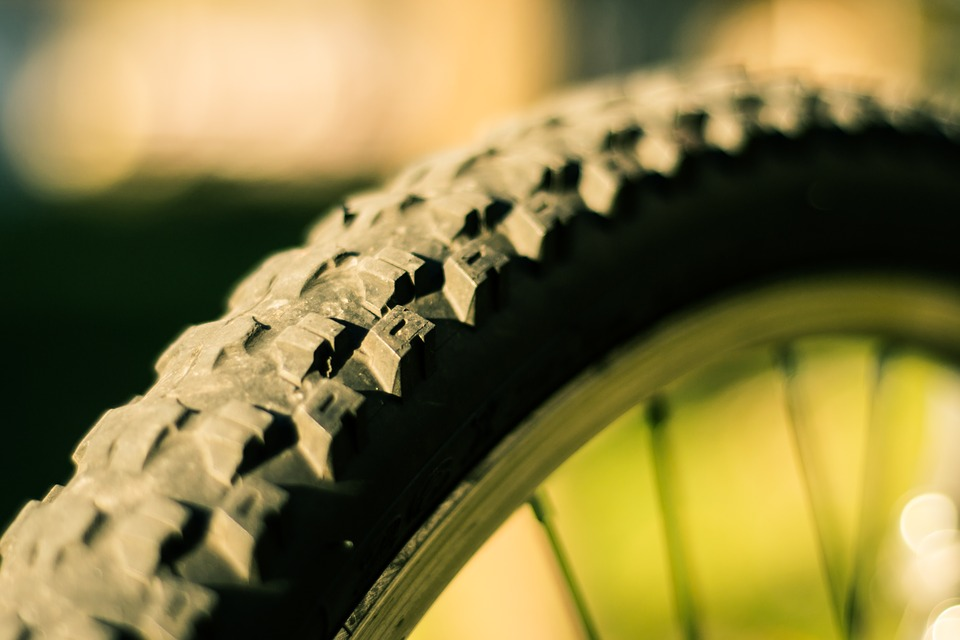 Tire, Knobbly Tire, Bike, Bicycle Wheel, Spokes, Rubber