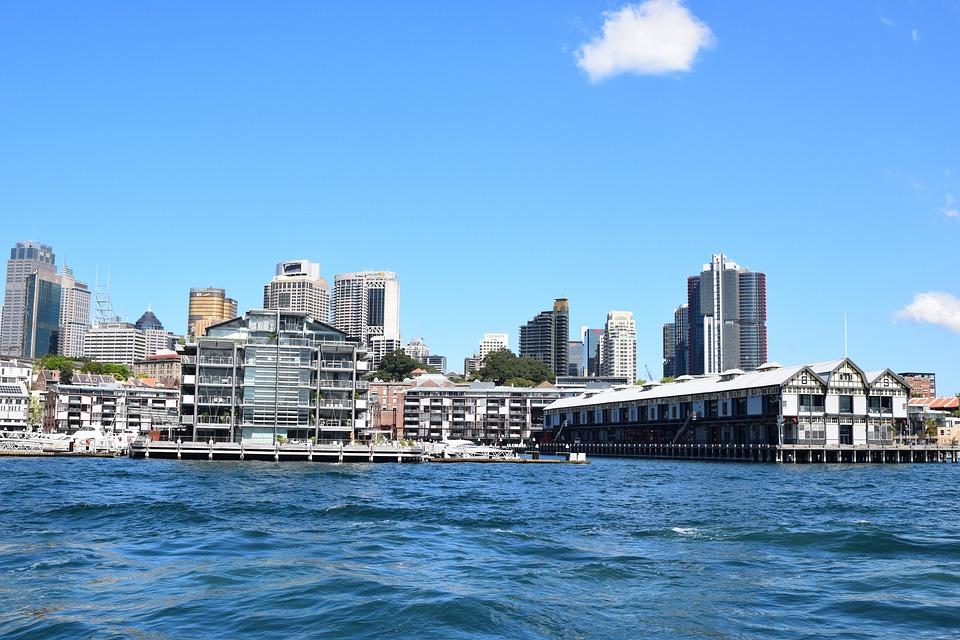 Sydney, Australia, Architecture, Water, City, To