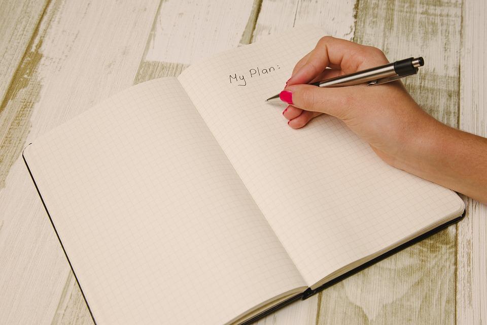 Arm, Hand, Desk, Notebook, Pen, Writing, Write, To Do