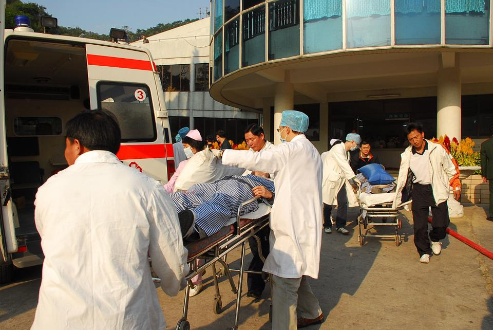 Hospital, Fire Training, To Save Lives