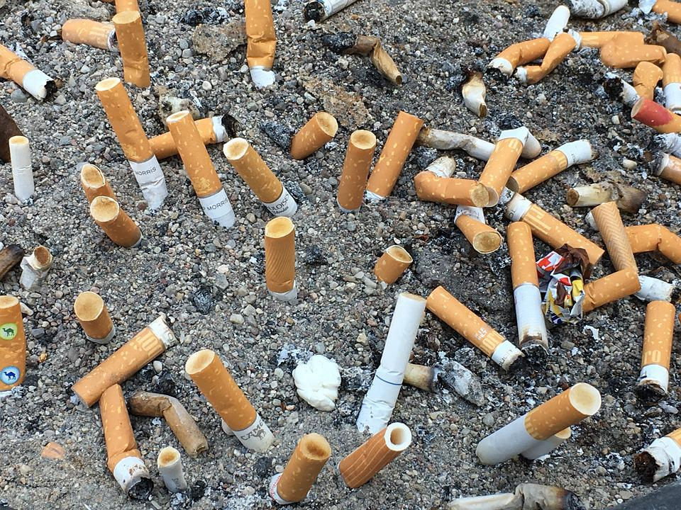 Cigarettes, Battle, Field, Unhealthy, Filter, Tobacco