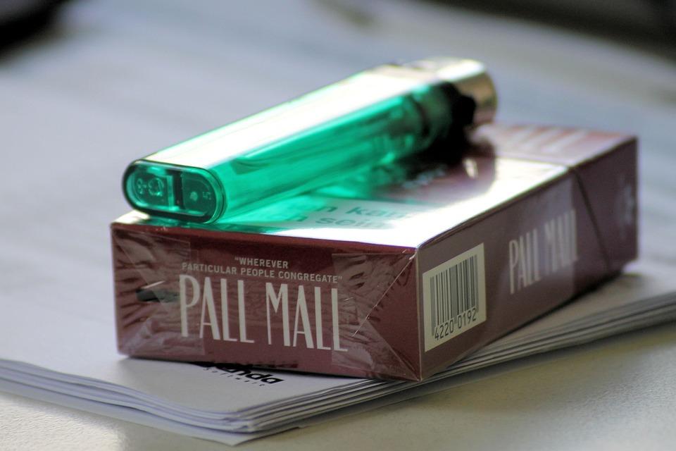 Cigarette Box, Lighter, Smoking, Cigarette, Tobacco
