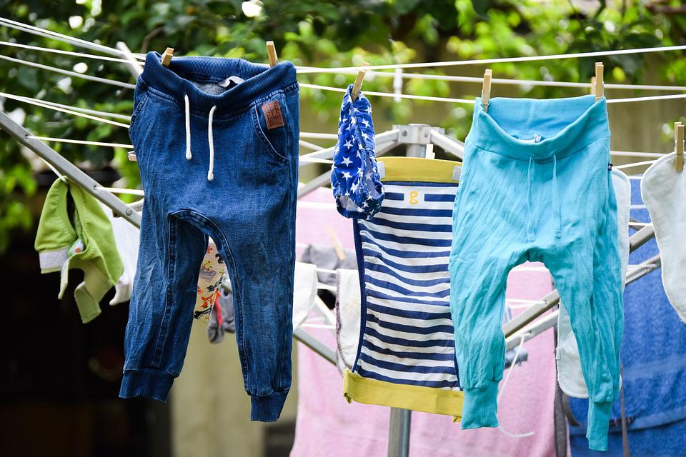 Washing, Dries, Airer, Pants, Blöjbyxa, Toddlers