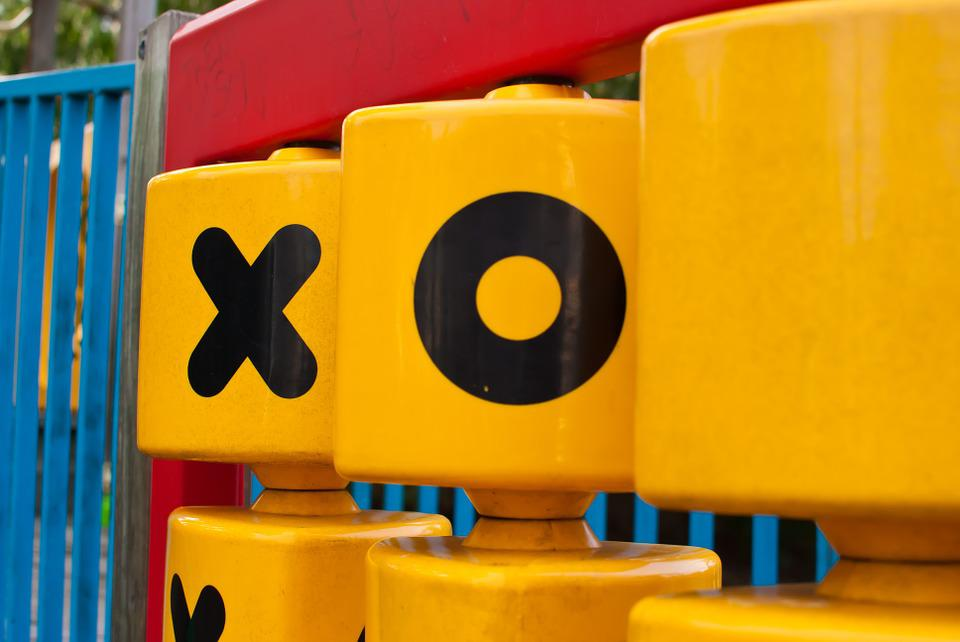 Yellow, Red, Children, Tictactoe, Tic, Tac, Toe, Game