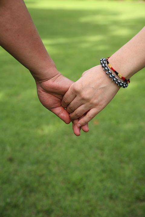 Accompany, Lovers, Together, Hand, The Couple, Family