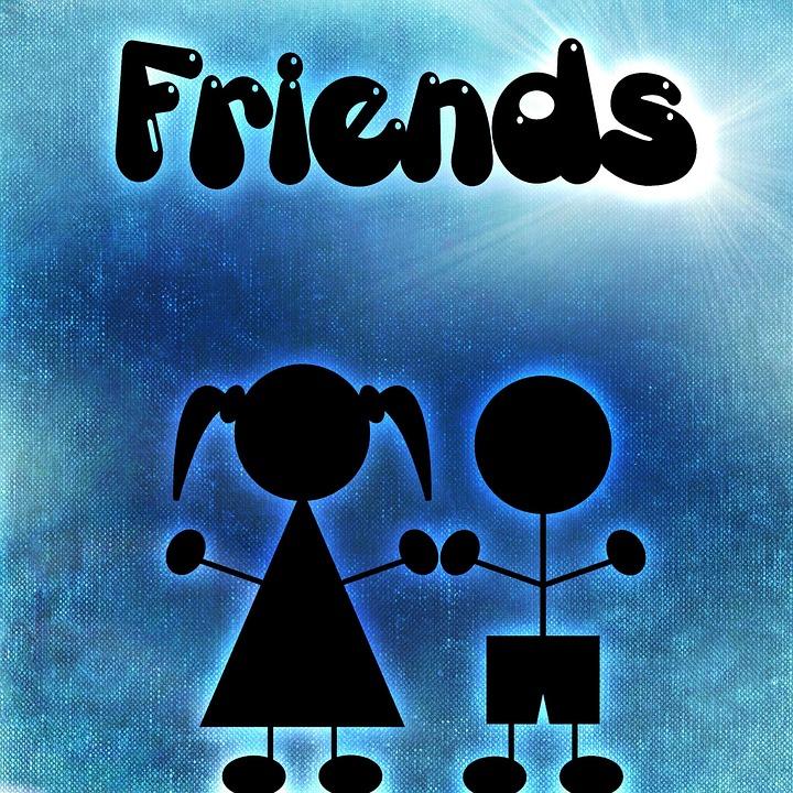 Friends, Pair, Friendship, Together