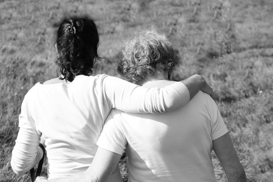 Mother, Daughter, Together, Loss, Joy, Embrace, Love