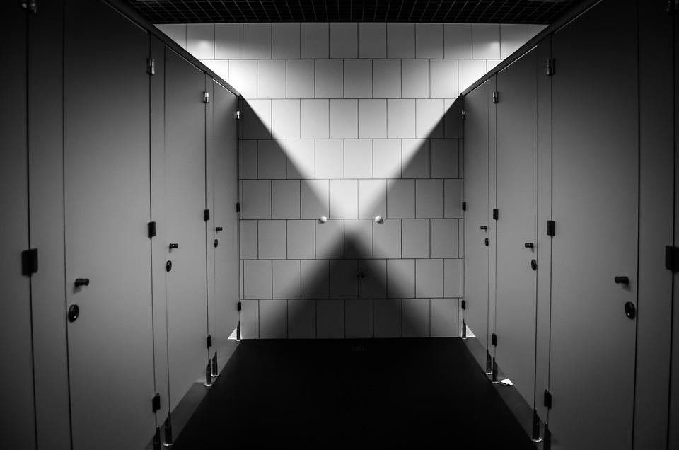 Wc, Toilet, Purely, Public Toilet, Bathroom, Shadow
