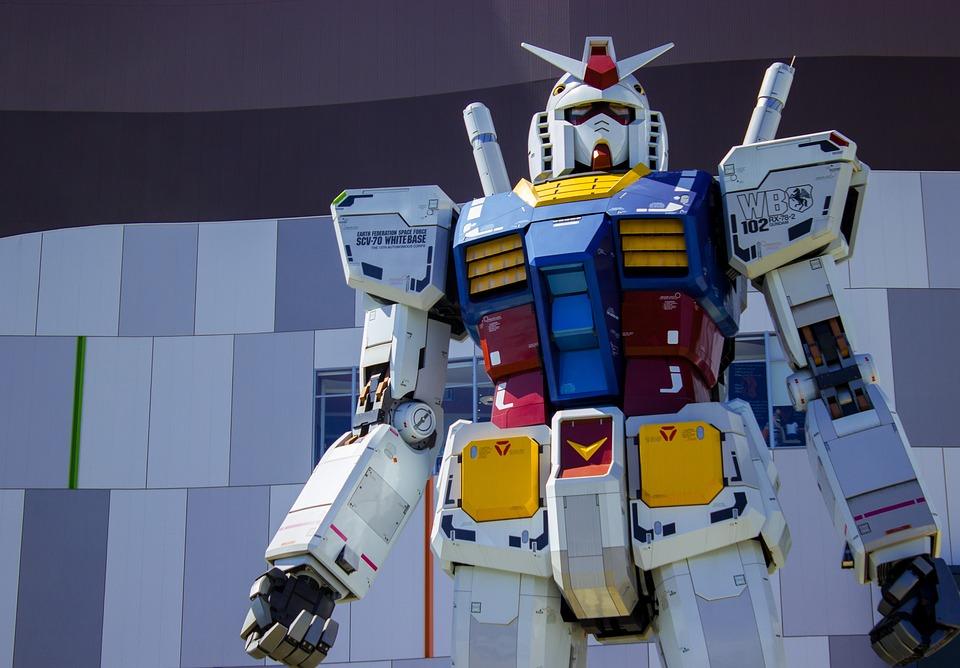 Tokyo, Figure, Giant, Robot