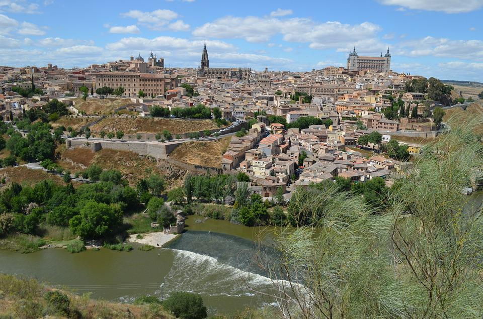 Toledo, Spain, Architecture, Old, Town