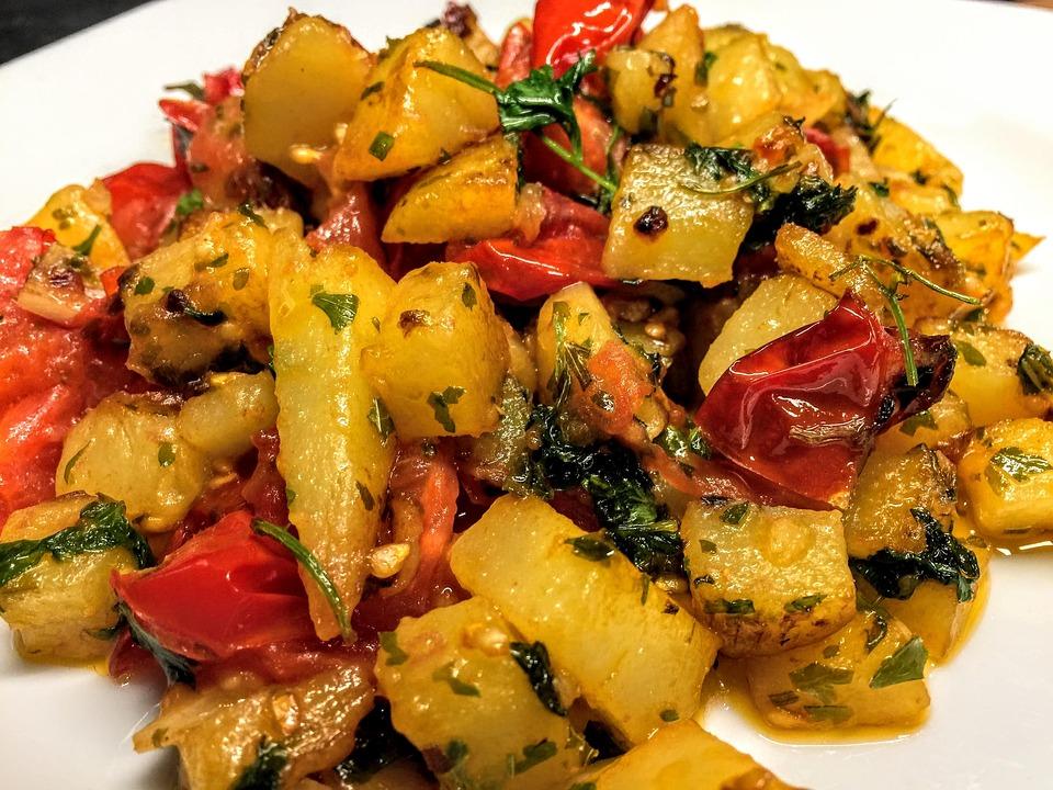 Potato, Tomato, Eat, Tomatoes, Fresh, Vegetables, Food