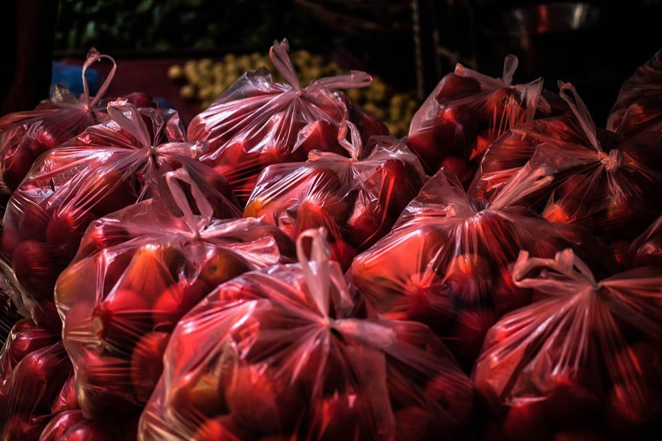 Tomato, Plastic Bag, Plastic, Food, Bag, Market, Color