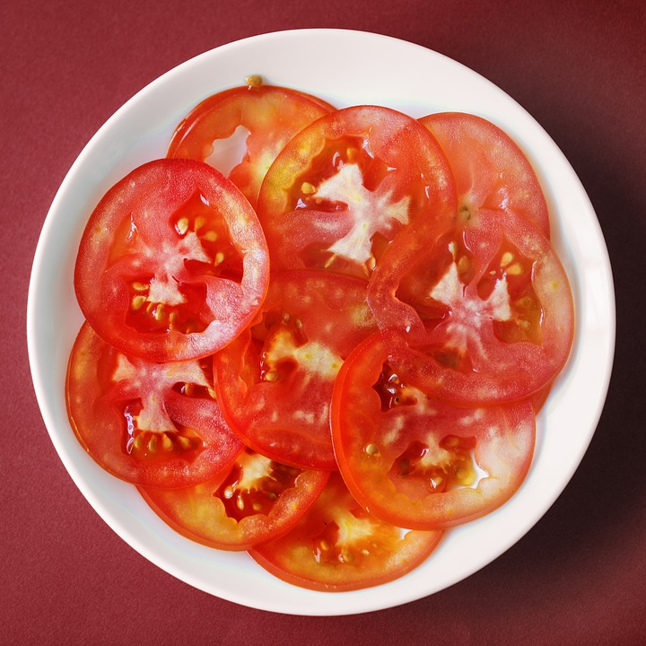 Food, Tomato, Meal, Vegetable, Epicure, Bright
