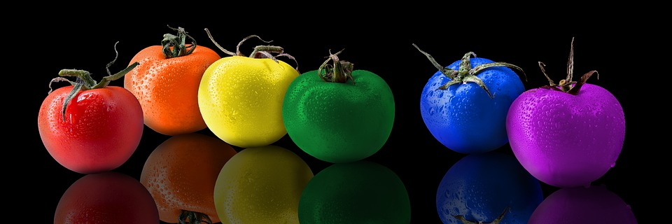 Tomatoes, Tomato, Color, Rainbow, Rainbows