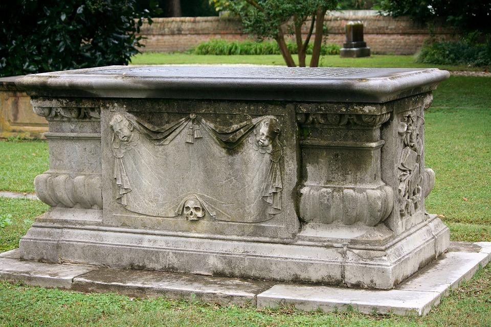 Sarcaphagus, Coffin, Tomb, Church Graveyard, Grave