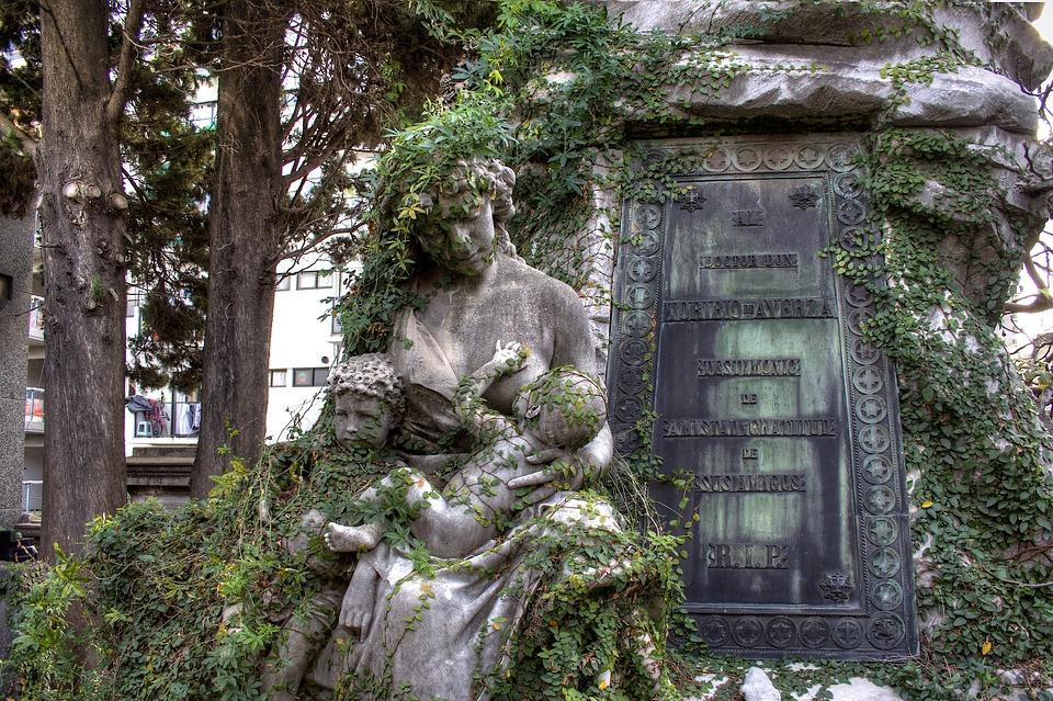 Buenos Aires, Argentina, Recoleta Cemetery, Tomb