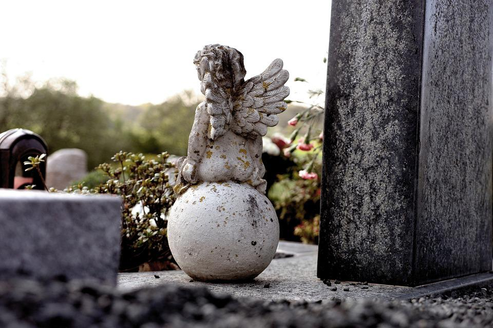 Tomb, Grave, Angel, Angel Figure, Cemetery, Tombstone