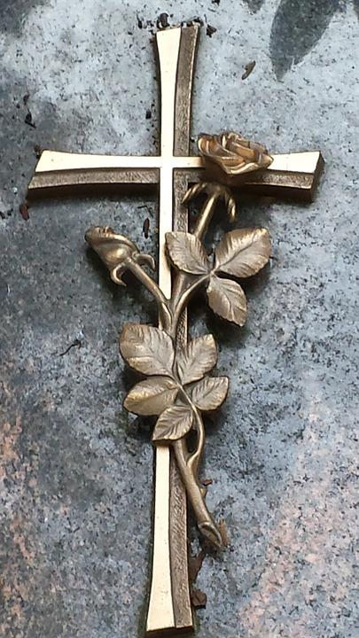 Cross, Hope, Cemetery, Tombstone, Sign Of The Cross