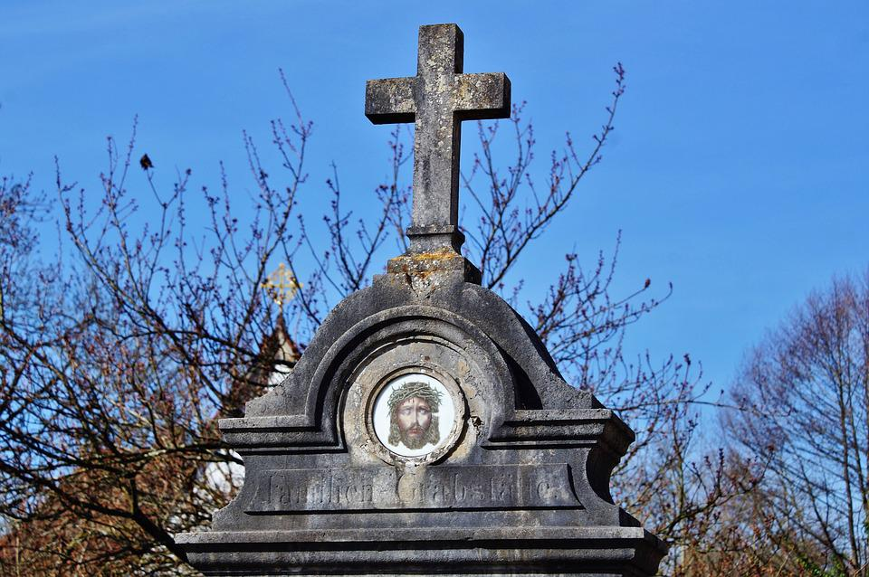 Grave, Tombstone, Cemetery, Old Cemetery, Mourning
