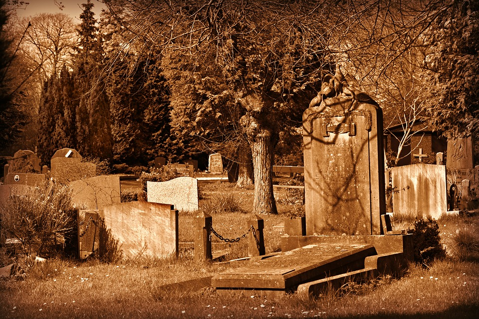 Cemetery, Graveyard, Grave, Tomb, Tombstone, Death