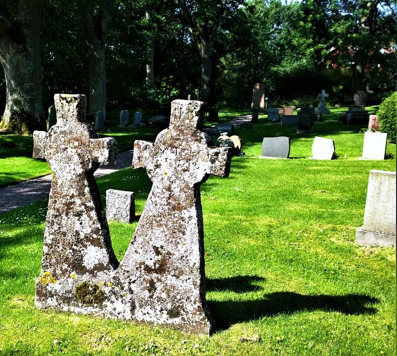 Tombstones, Cemetery, Tomb, Old Cemetery, Headstone