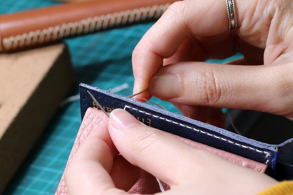 Leather Craft, Hand, Tool, Thread, Equipment, Hobby