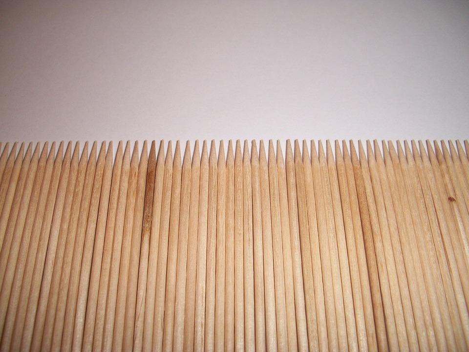 Sticks, Wood, Kabob, Spiky, Impale, Poke, Tool, Kitchen