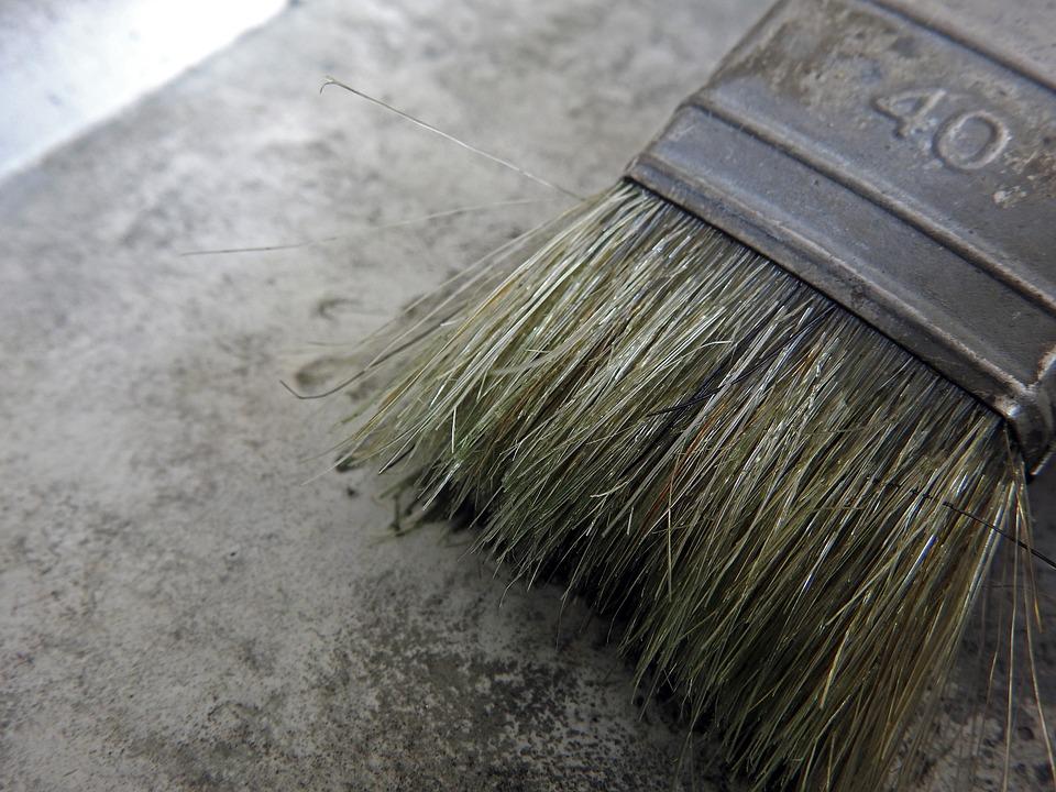 Brush, Bristles, Delete, Paint, Tool