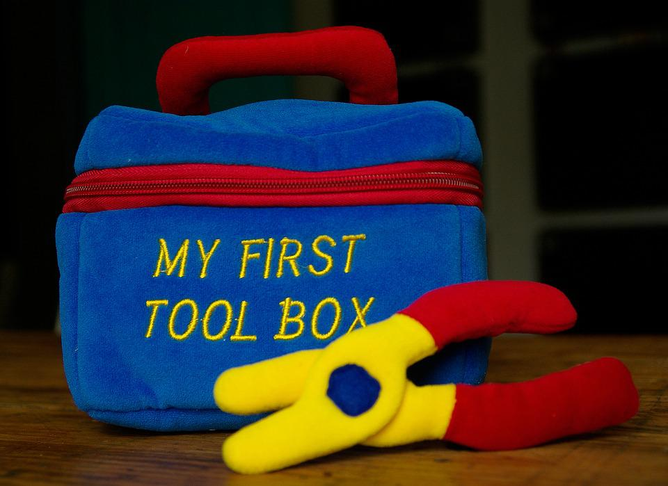 Tools, Diy, Toolbox, Clamp