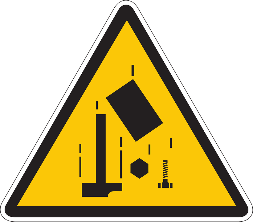 Safety, Danger, Tools, Information, Warning, Falling