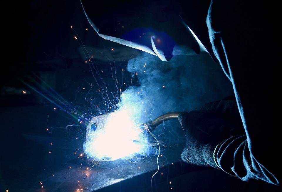 Welding, Work, Metal, Tools, Man, Machine, Technology