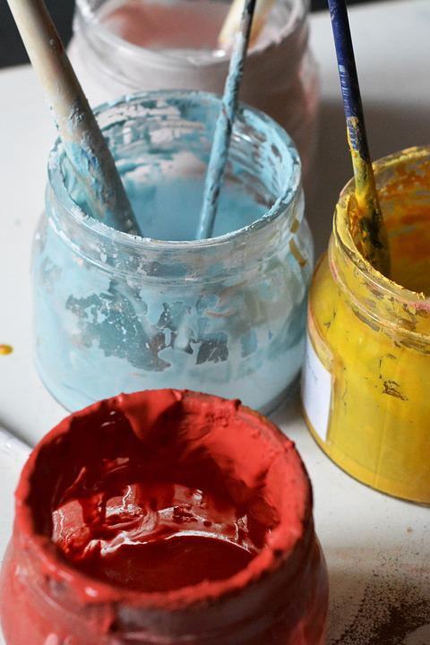 Color, Tooth Enamel, Painting, Szkliwienie, Colored
