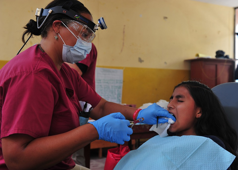 Dentist, Tooth Extraction, Dental, Treatment, Patient