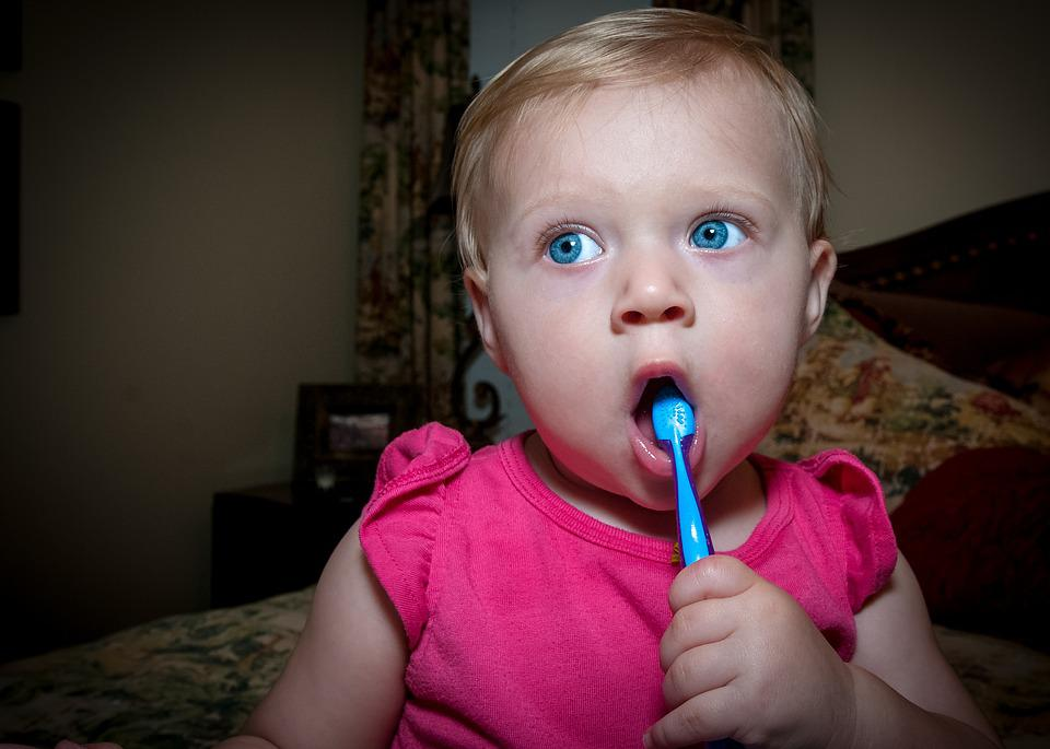 Tooth Brush, Baby, Child, Toothbrush, Toothpaste