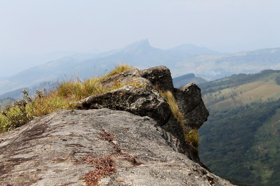 Cliff, Rock, Landscape, Mountain, Top, Adventure