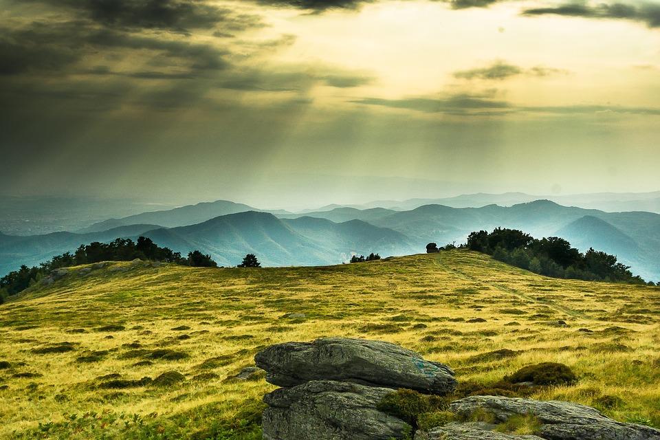Mountain, Sunset, Romania, Top, Hill, Nature, Mountains