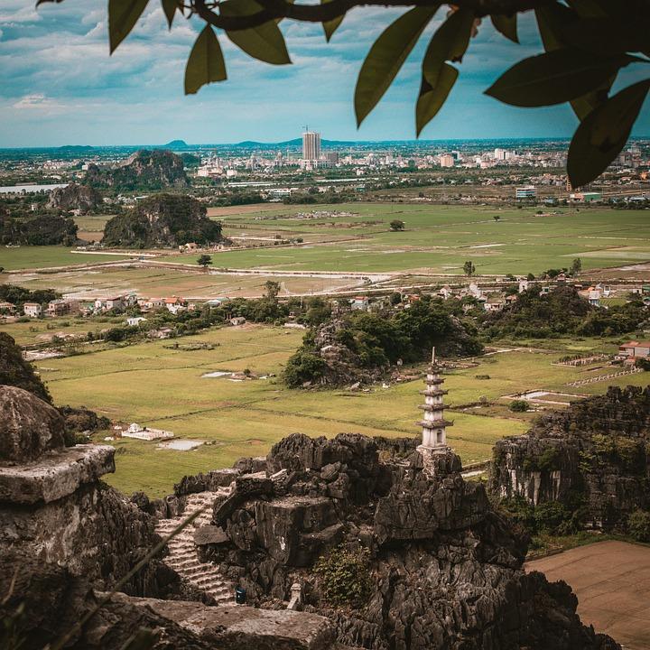 Temple, Ninh Binh, Viet Nam, Travel, Asia, Nice, Top